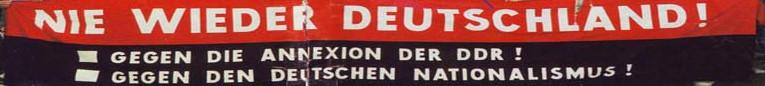 """30 Jahre """"wiedervereinigtes"""" Deutschland heißt Rechtsruck, Sozialabbau, Krieg!"""