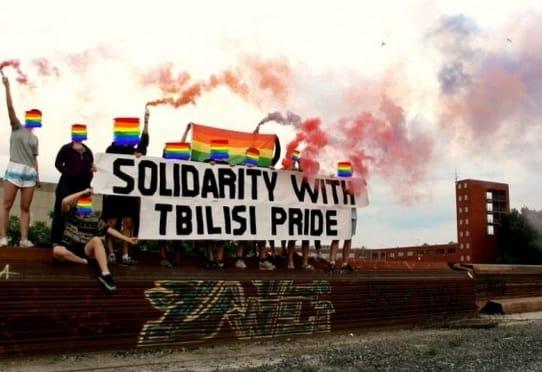 Kundgebung:  Solidarität mit  Tbilisi Pride!
