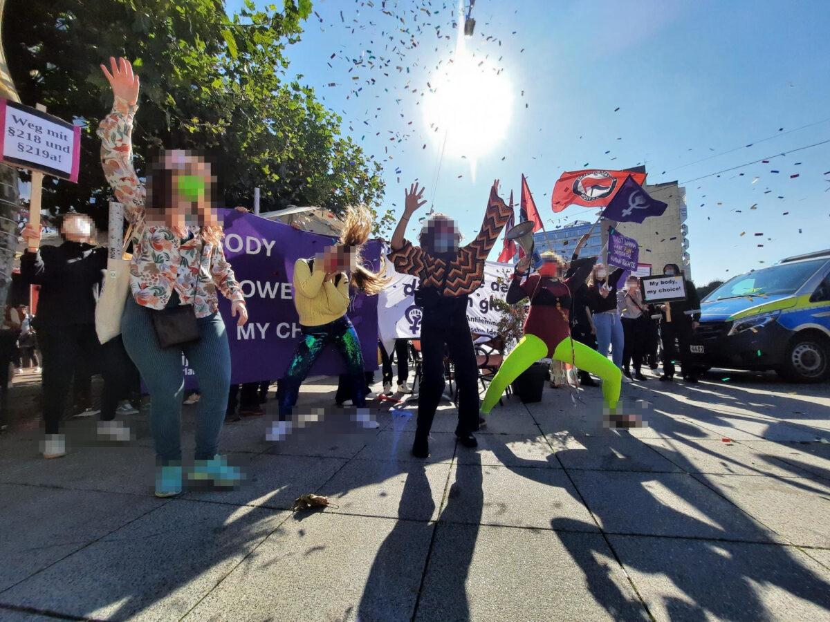 Erfolgreicher Protest gegen den Aufmarsch der Piusbrüder